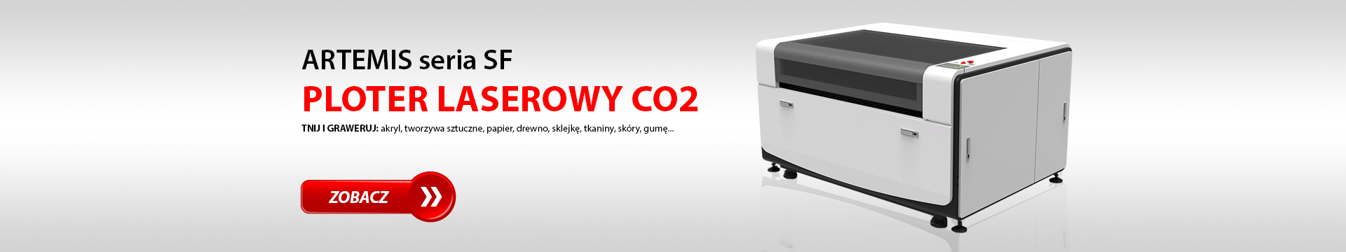 Ploter laserowy CO2 / Laser CO2