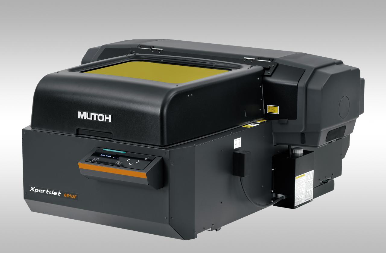 Drukarka LED-UV (nie tylko) do gadżetów - Mutoh XpertJet 661UF