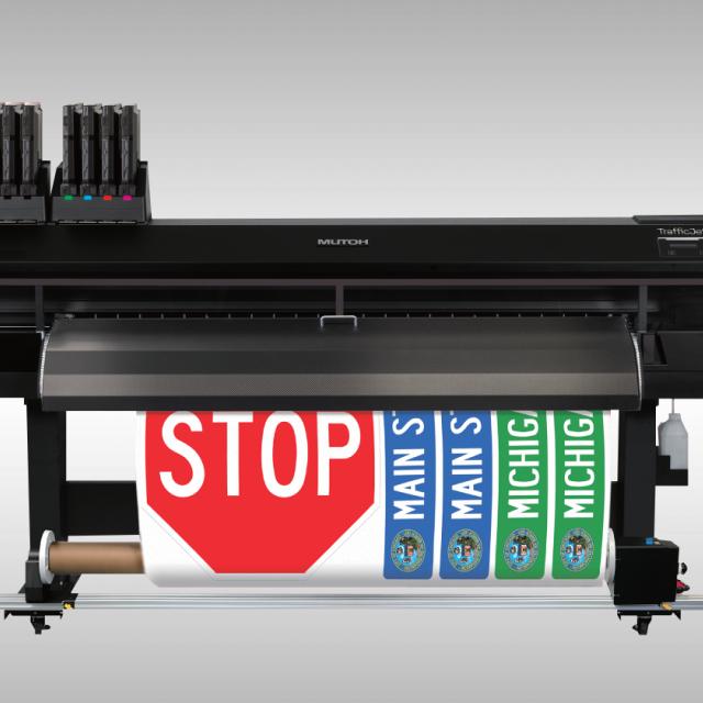 Ploter do druku znaków drogowych Mutoh TrafficJet Xpert